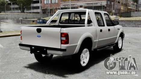 Ford Ranger 2008 XLR pour GTA 4 Vue arrière de la gauche