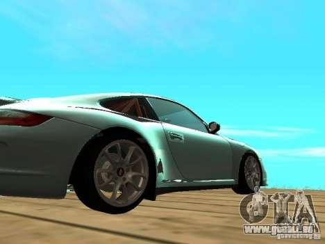 Porsche 997 GT3 RS für GTA San Andreas Rückansicht