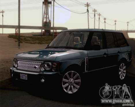 Land Rover Range Rover Supercharged 2008 pour GTA San Andreas