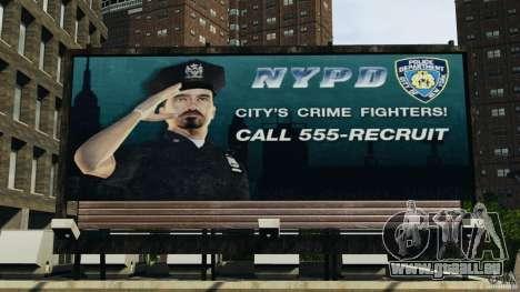Remake second police station pour GTA 4 cinquième écran