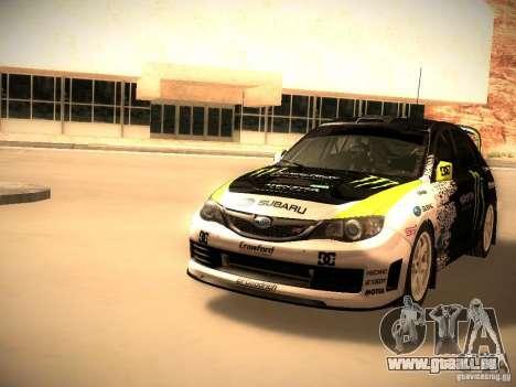Subaru Impreza Gymkhana für GTA San Andreas linke Ansicht