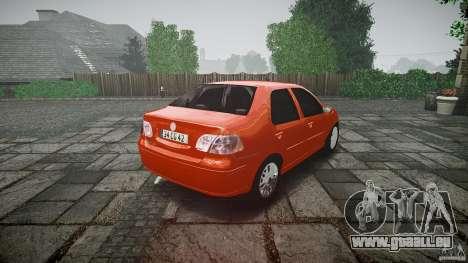 Fiat Albea Sole für GTA 4 Seitenansicht