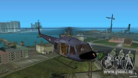 Maverick Bell-Huey für GTA Vice City linke Ansicht
