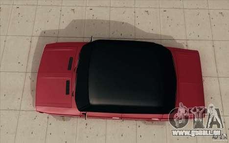 Lada VAZ 2106 pour GTA San Andreas vue de droite