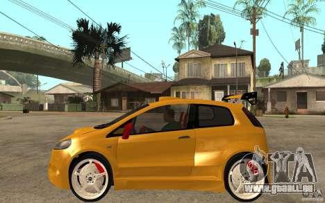 Fiat Grande Punto Tuning pour GTA San Andreas laissé vue
