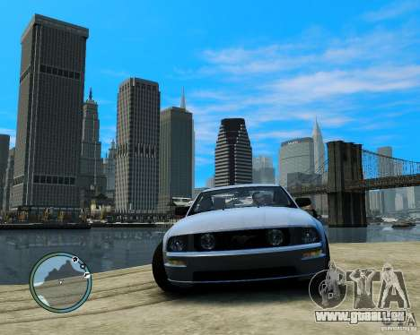 Ford Mustang GT 2005 v1.2 pour GTA 4