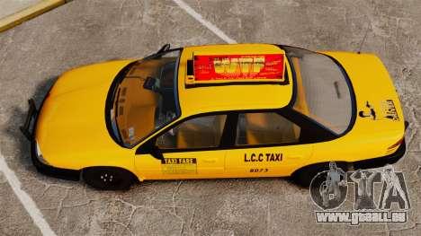 Dodge Intrepid 1993 Taxi pour GTA 4 est un droit