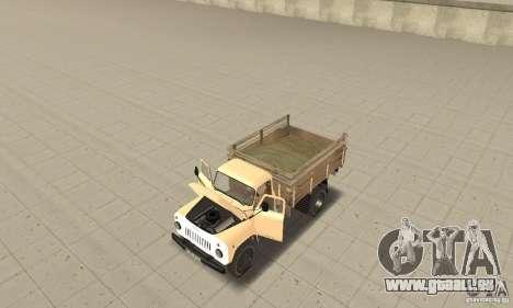 GAZ-52 für GTA San Andreas Rückansicht