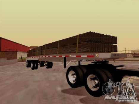 Trailer Artict1 pour GTA San Andreas vue arrière