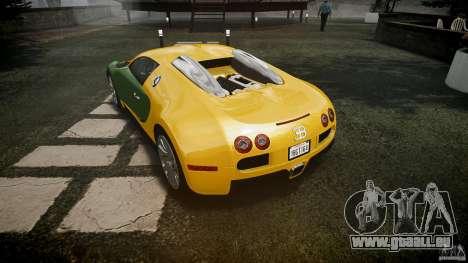 Bugatti Veyron 16.4 v3.0 2005 [EPM] Machiavelli pour GTA 4 vue de dessus