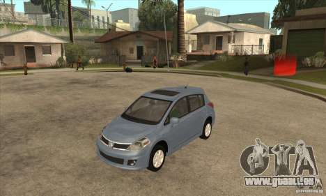 Nissan Tiida pour GTA San Andreas