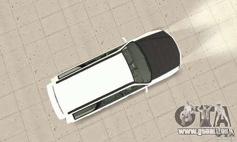 Nissan Stagea GTR pour GTA San Andreas vue intérieure