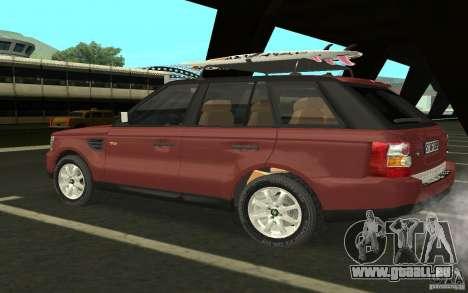 Land Rover Range Rover 2007 für GTA San Andreas rechten Ansicht