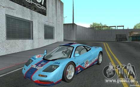 Mclaren F1 road version 1997 (v1.0.0) für GTA San Andreas