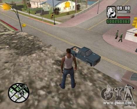 GTA 4 Anims for SAMP v2.0 pour GTA San Andreas sixième écran