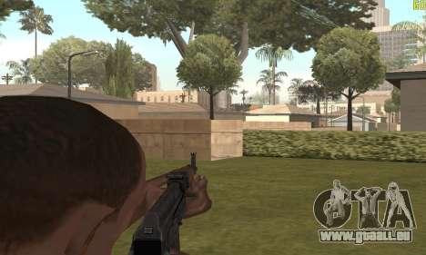 AKMS pour GTA San Andreas cinquième écran