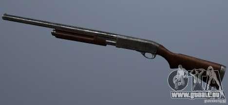 Remington 870AE Silver pour GTA San Andreas troisième écran