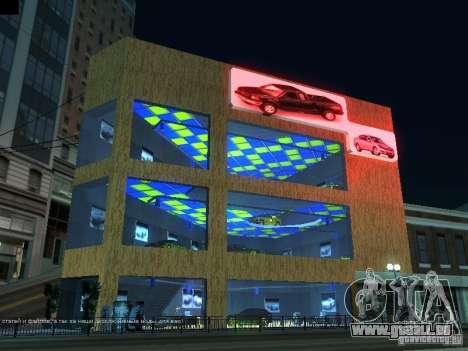 Nouveau showroom à San Fiero pour GTA San Andreas