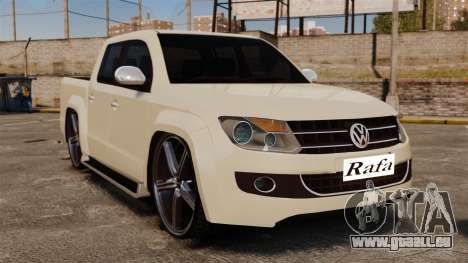 Volkswagen Amarok Light Tuning pour GTA 4