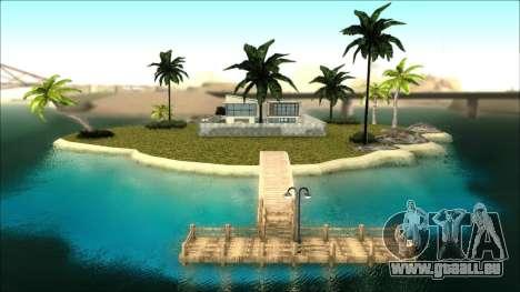Diegoforfuns Modern House pour GTA San Andreas troisième écran