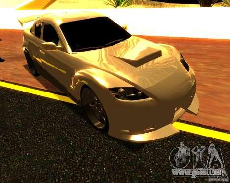 Mazda RX8 pour GTA San Andreas