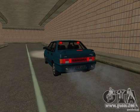 VAZ 21099 Suite pour GTA San Andreas vue de côté