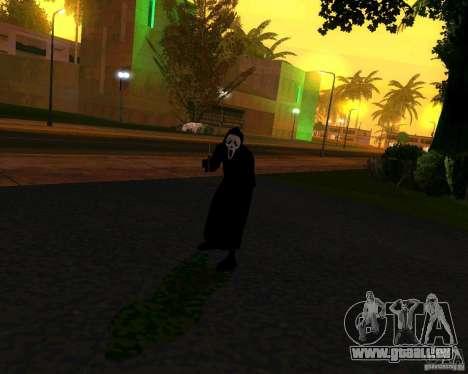 Scream (Scream) pour GTA San Andreas deuxième écran