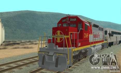 SD40 Santa Fe pour GTA San Andreas