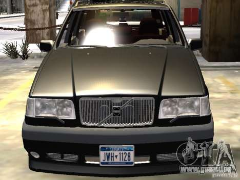 Volvo 850 R 1996 Rims 1 für GTA 4 Unteransicht