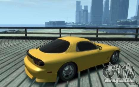 Mazda RX-7 v1 pour GTA 4 est un droit