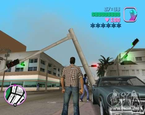 Nouveau Sabre pour une vue GTA Vice City de la droite