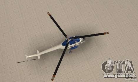 Mi-2 canaux pour GTA San Andreas vue de droite