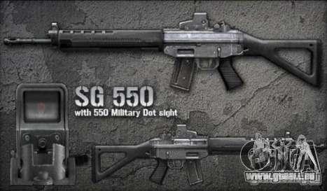 [Point Blank] SG550 pour GTA San Andreas