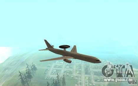 Boeing E-767 für GTA San Andreas linke Ansicht