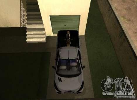 Peugeot Hoggar Escapade 2010 für GTA San Andreas Rückansicht