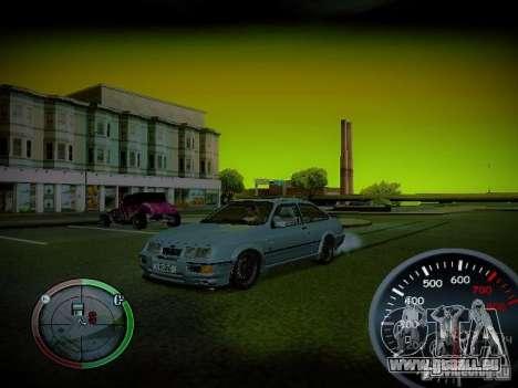 Tacho von Centrale v2 für GTA San Andreas