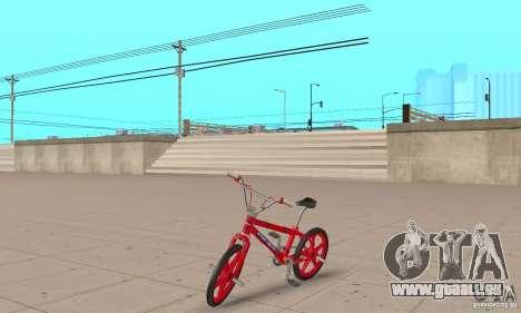 New BMX für GTA San Andreas