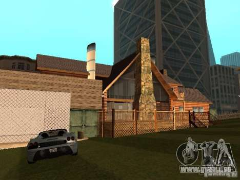 Villa in San Fierro für GTA San Andreas her Screenshot