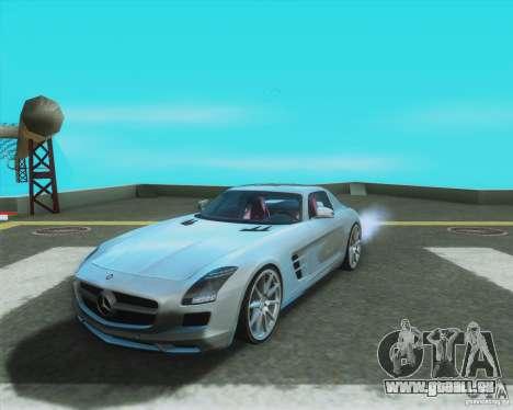 Mercedes-Benz SLS AMG 2010 v.1.0 pour GTA San Andreas