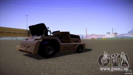 Air Tug from GTA IV für GTA San Andreas linke Ansicht