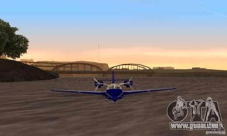 Beriev être-103 pour GTA San Andreas sur la vue arrière gauche