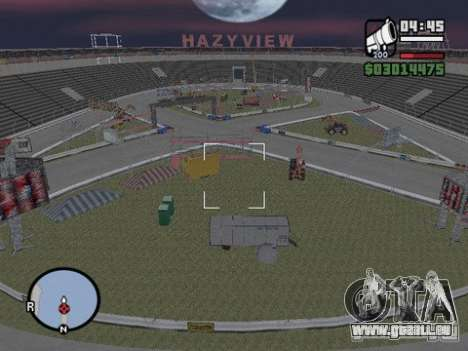 Hazyview pour GTA San Andreas deuxième écran