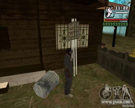 Haus Jäger v3. 0 Final für GTA San Andreas sechsten Screenshot