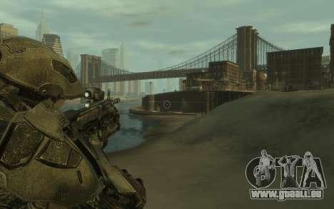 Halo 4 Master Chief pour GTA 4 troisième écran