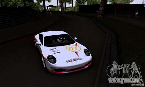Porsche 911 Carrera S für GTA San Andreas Seitenansicht