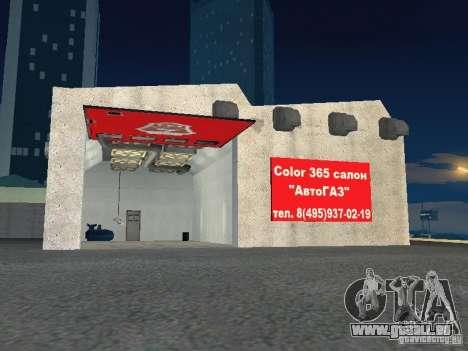 Gaz pour GTA San Andreas cinquième écran