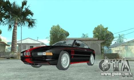 BMW 850i pour GTA San Andreas vue arrière