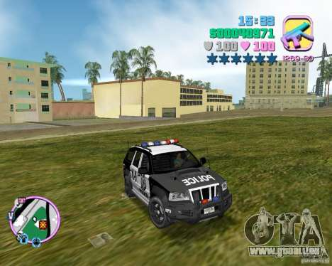 Jeep Grand Cheeroke COPSUV FROM NFS:MW pour GTA Vice City