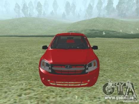 VAZ 2192 für GTA San Andreas linke Ansicht