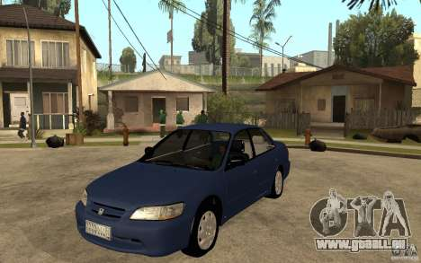 Honda Accord 2001 beta1 für GTA San Andreas